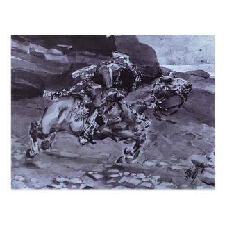 Mikhail Vrubel- Rider Postcard