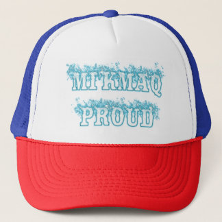 MI'KMAQ PROUD TRUCKER HAT
