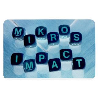 MIKROS IMPACT CAR FLEX MAGNET