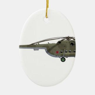 Mil Mi-8 Hip Ceramic Ornament