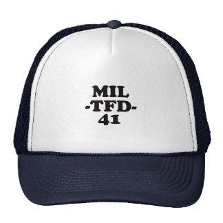 MIL-TFD-41 hat