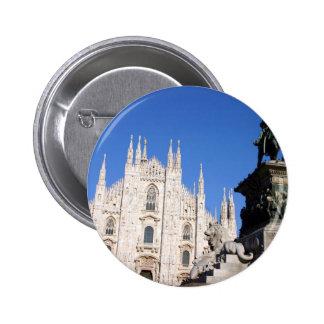 Milan 6 Cm Round Badge