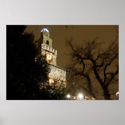 Milan Castle by Night Print