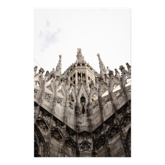 Milan cathedral dome - Italy Personalized Stationery
