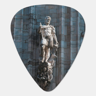 Milan Cathedral dome statue architecture monument Guitar Pick