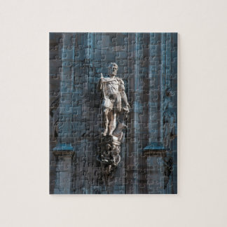 Milan Cathedral dome statue architecture monument Jigsaw Puzzle