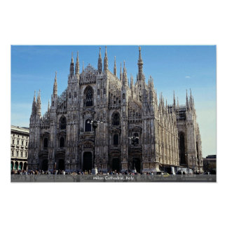 Milan Cathedral, Italy Poster
