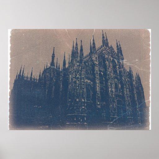Milan Cathedral Print