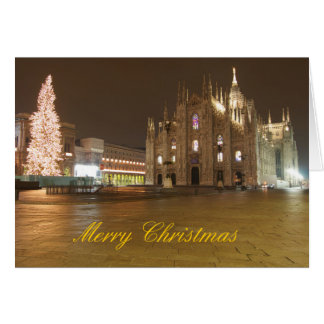 Milan Duomo Christmas Card