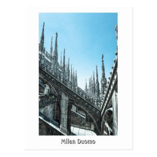 Milan Duomo Roof Postcard
