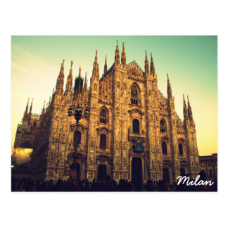 Milan, Italy Postcard
