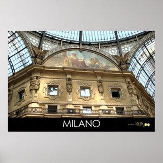 MILAN ITALY POSTER