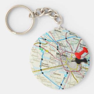 Milan, Milano (Italy) Key Ring