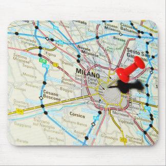 Milan, Milano (Italy) Mouse Pad