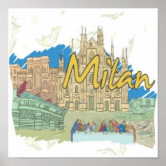 Milan Posters