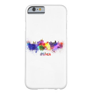 Milan skyline in watercolor barely there iPhone 6 case