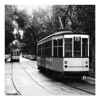 Milan Trams Print