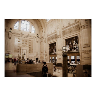 Milano Centrale Railway Station Poster