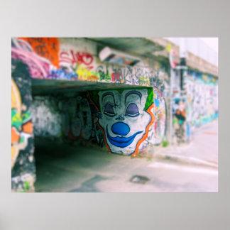 Milano Graffiti Poster