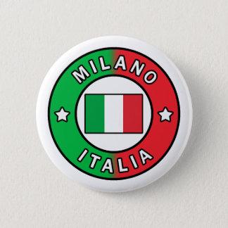 Milano Italia 6 Cm Round Badge