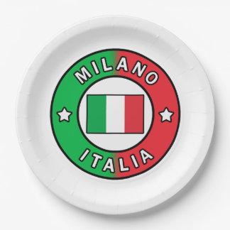 Milano Italia Paper Plate