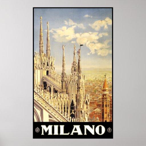 Milano Italy Poster