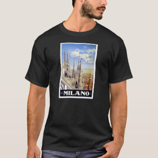 Milano Italy Vintage Travel T-Shirt