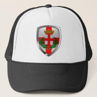 Milano Mettalic Emblem Trucker Hat