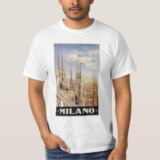 Milano (Milan) Italy clothing T Shirt