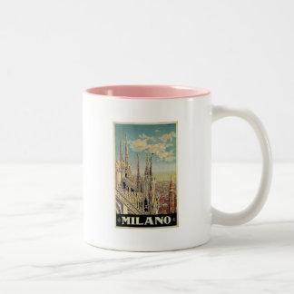 Milano Milan Italy Vintage Travel Mugs