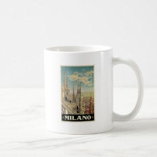 Milano Milan Italy Vintage Travel Mug