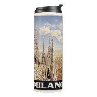 Milano Milan Italy vintage travel tumbler Thermal Tumbler