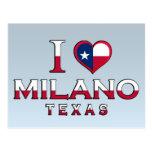 Milano, Texas Postcard