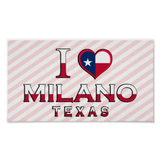 Milano Texas Posters