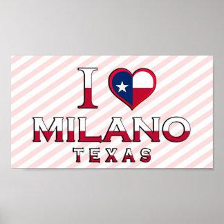 Milano, Texas Posters