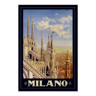 Milano with border print