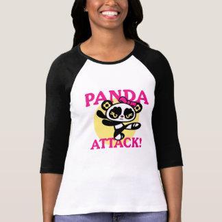 "MilaPanda character ""Panda Attack!"" design T-Shirt"