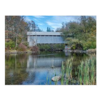 Milby Covered Bridge 2 Postcard