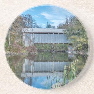 Milby Covered Bridge Coasters