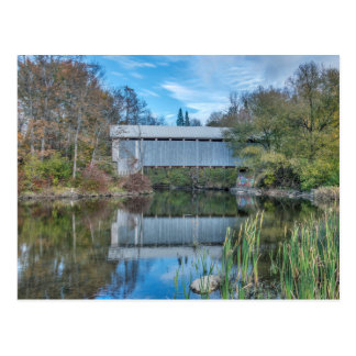 Milby Covered Bridge Postcard