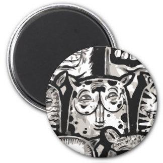 Mildred 6 Cm Round Magnet