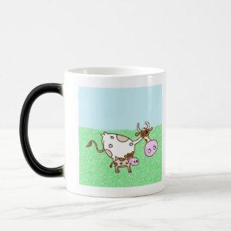 Mildred Cow And Dory Calf Morphing Mug