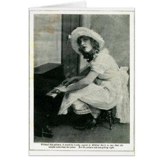 Mildred Davis 1921 vintage portrait card