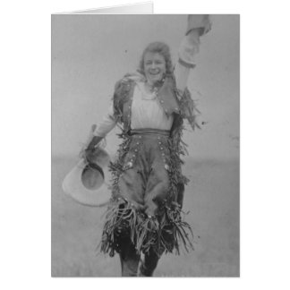 Mildred Douglas. Greeting Card