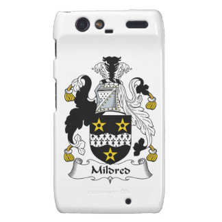 Mildred Family Crest Droid RAZR Cover