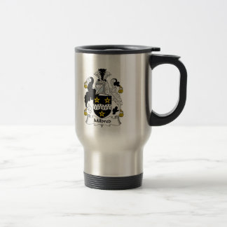 Mildred Family Crest Stainless Steel Travel Mug