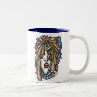 Mildred in Color Blue Mug