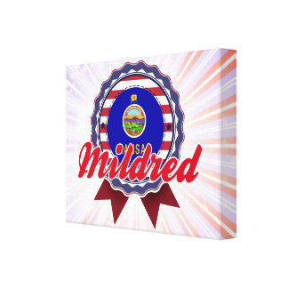 Mildred KS Gallery Wrapped Canvas