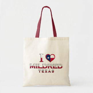 Mildred, Texas Canvas Bags