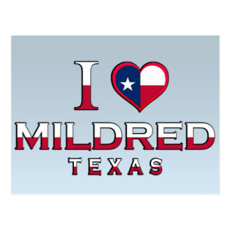Mildred, Texas Post Card